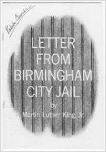 Letter from Birmingham City Jail