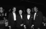 Douglas Dollarhide, two men, and Tom Bradley, Los Angeles, 1985