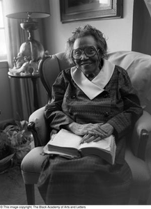 Portrait of Mable Chandler in her home Dallas/Fort Worth Black Living Legends Dallas/Fort Worth Black Living Legends, 1992