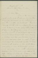 John Bennitt to his wife [Letter 159]