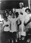 Carrie McAdoo and grandchildren