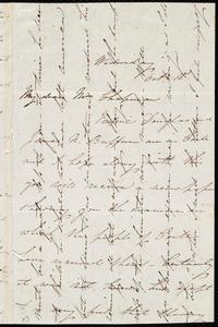 Letter from Isabel Jennings, [Cork?, Ireland], to Maria Weston Chapman, Wednesday, Oct. 15, [1845?]