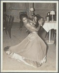 Zola King, eccentric dancer doing her nightly stunt in the cabaret scene