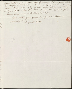 Letter from Anne Warren Weston, 39 Summer Street, [Boston], to Caroline Weston and Deborah Weston, Sept. 28, 1843