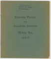 Catalog of the Emerson Normal and Industrial Institute in Mobile, Alabama.