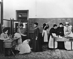 Dressmaking Class: Hampton Institute