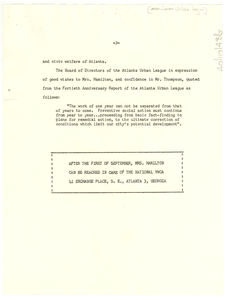 Address of Mrs. Hamilton [fragment]
