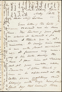 Letter from James Miller M'Kim to Mary Anne Estlin, [1856] May 10