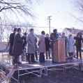 Wendell Anderson at a Community Groundbreaking