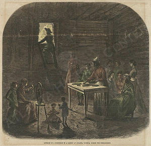 Bombproof Shelter During the Bombardment