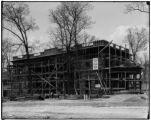 Maryland State pavilion construction