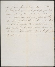 Letter to] My dear Phelps [manuscript