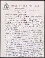 Letter : J. A. Hyland to Mrs. James Weldon Johnson