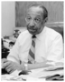"""Cecil Newman. Founder, editor and publisher of the """"Minneapolis Spokesman"""" and the """"St. Paul Recorder"""". President of the Minneapolis Urban League and first African American President of the Minnesota Press Club."""
