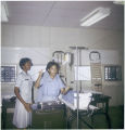 Clara Adams-Ender teaching at Medical Training Center, circa 1964