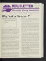 Minnesota Library Association Newsletter, April 1989