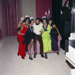 Group picture with Berry Gordy, Los Angeles, 1971