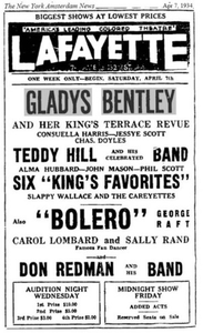 Gladys Bentley and her King's Terrace Revue