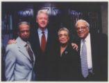 Vasco Smith, Bill Clinton, Maxine Smith, and Ben Hooks