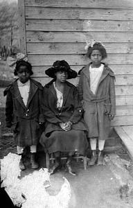 Three young girls.