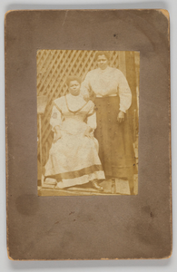 Photographic print of two women