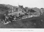 The ruins of Christophe's palace of Sans Souci