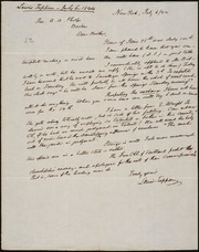Letter to] Dear Brother [manuscript