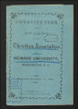 Thumbnail for State records. District of Columbia. Howard University, reports and constitution, 1869, 1953-1962. (Box 70, Folder 5)