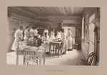 "Social Settlements: United States. Alabama. Calhoun. ""Calhoun Colored School"": Agencies Promoting Assimilation of the Negro. Training Negro Girls in Domestic Science. Calhoun Colored School, Calhoun, Ala.: Cooking Class"