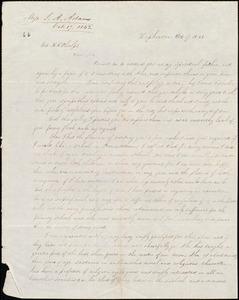 Letter from Sarah Ann Adams, Hopkinton, to Amos Augustus Phelps, Oct. 17 1842