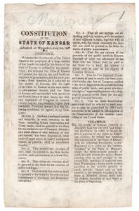 Wyandot Constitution