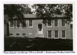 """Tennessee School for the Deaf -- Entrance to Negro Department's, """"New School Building"""""""