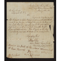 Letter from Freedmen's Bureau to Enos Harrell