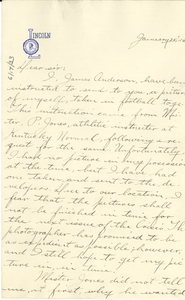 Letter from James C. Anderson to Editor of the Crisis