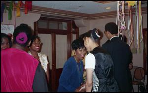 Attendees in Conversation at Service to Youth Award Program San Antonio Chapter of Links Records