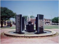 Albany civil rights memorial