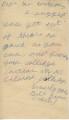 Bill Brown to Mr. [Wilsas] (4 October 1962)