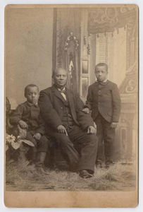 Unknown African American Man with Children