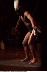 Dancer on stage Hip Hop Broadway: The Musical