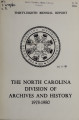 Biennial report of the North Carolina Division of Archives and History [1978-1980]
