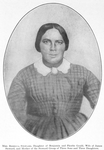 Mrs. Rebecca Steward, daughter of Benjamin and Phoebe Gould, wife of James Steward, and mother of the Steward group of three sons and three daughters