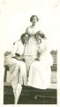 Unidentified Woman, Maggie Busby, and Roberta Jones, Former Students and Teachers at Southland