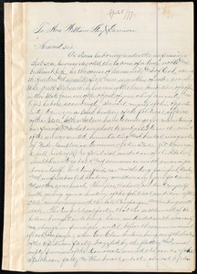 Letter from George Washington Murray, Columbia, S.C., to William Lloyd Garrison, 5th April, 1877