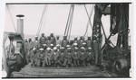 Crew of U.S.C. Jason, Panama Pacific International Exposition, 293 P.O. San Francisco, Cal., April 15, 1915