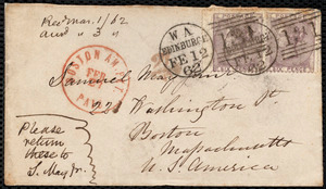 Letter from Eliza Wigham, Edinburgh, to Samuel May, [1862?]