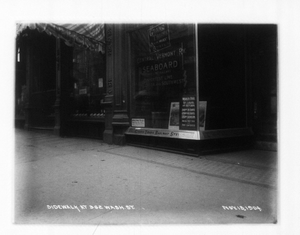 Sidewalk at 362 Washington St., sec.6, Boston, Mass., November 13, 1904