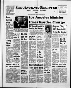 San Antonio Register (San Antonio, Tex.), Vol. 41, No. 9, Ed. 1 Friday, August 18, 1972 San Antonio Register