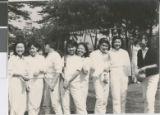 Students from Ibaraki Christian Schools in Athletic Uniforms, Ibaraki, Japan, ca.1950-1965