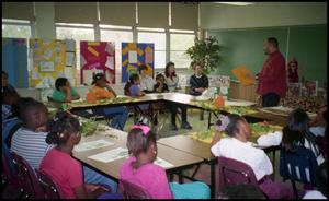 Gates Elementary Classroom and Male Speaker San Antonio Chapter of Links Records