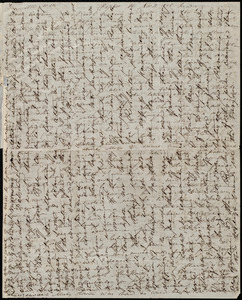 Letter from Anne Warren Weston, Poplar St., [Boston], to Caroline Weston, Nov. 12, 1848. Sunday